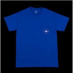T-Shirts Animal Emblem Pocket Blue M