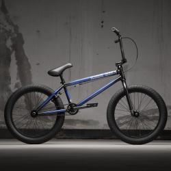KINK Gap FC 2021 Gloss Friction Blue BMX bike
