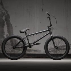 KINK Launch 2021 Matte Dusk Black BMX bike
