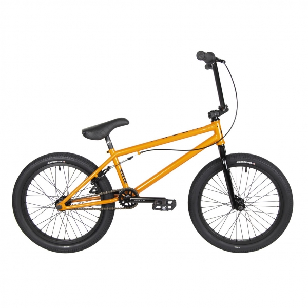 Kench Street Hi-ten 2021 20.75 orange BMX bike
