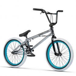 Radio Astron 2021 20.75 chrome BMX bike