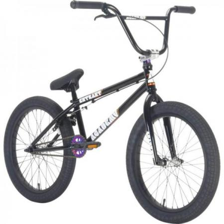 Academy Entrant 2021 19.5 Black with Rainbow BMX bike