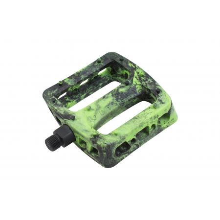 Odyssey Twisted PRO PC black with green swirl pedals